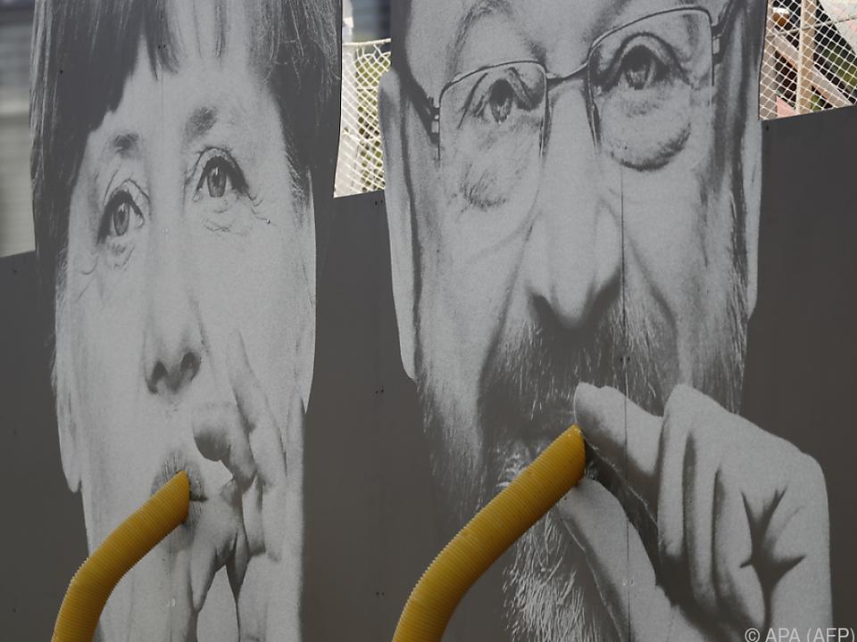 Merkel und Schulz wollen Kanzler werden