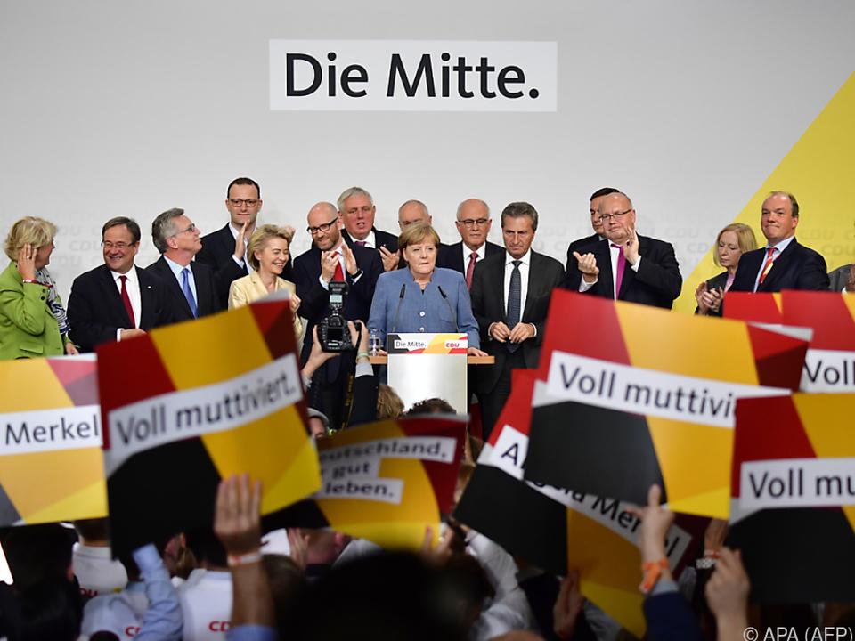 Merkel will Regierung bilden