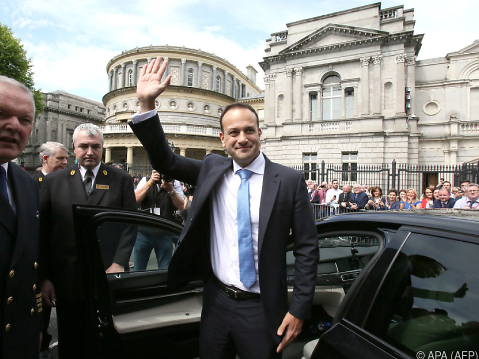 Ministerpräsident Varadkar geht ein Tabu in Irland an
