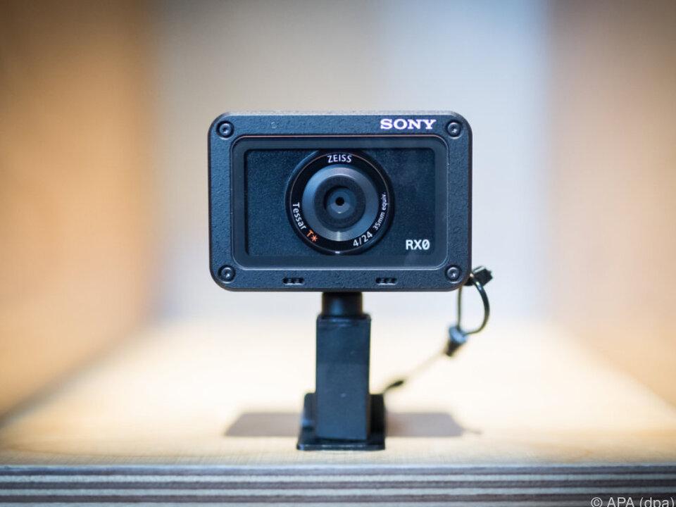Die Actioncam RX0 von Sony ist besonders kompakt