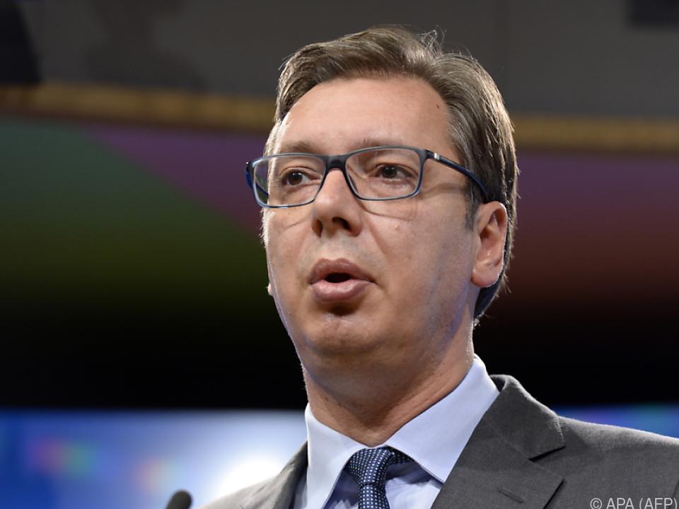 Mögliches Attentat auf Serbiens Präsidenten Vucic