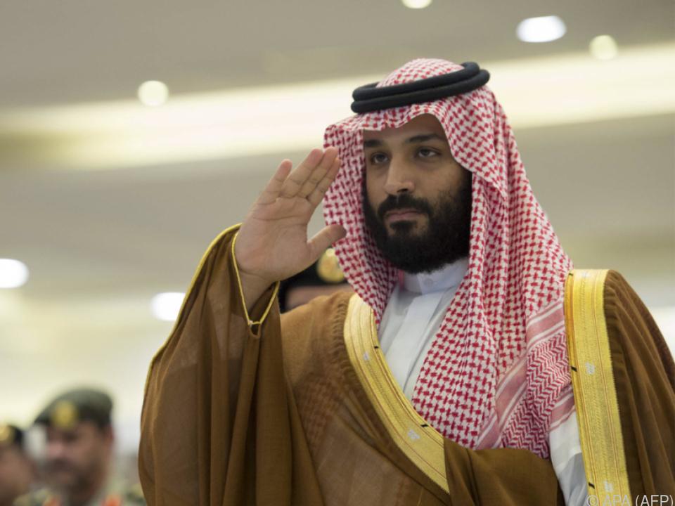 Mohammed bin Salman freut sich über Verhandlungsbereitschaft Katars