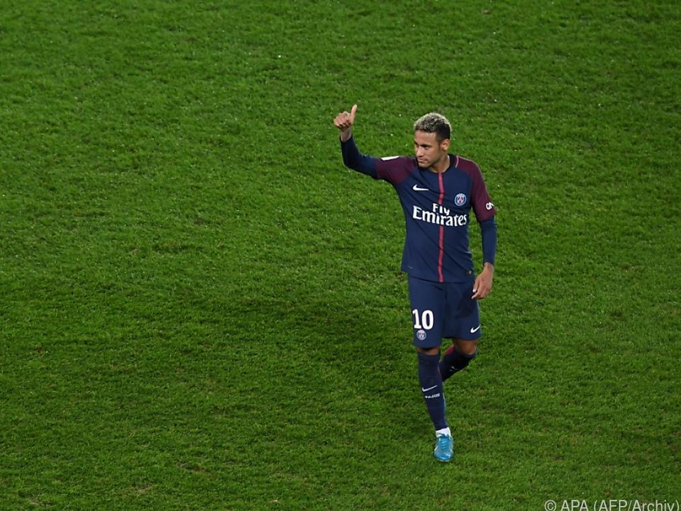 Neymar kassiert 3 Mio. Euro pro Monat