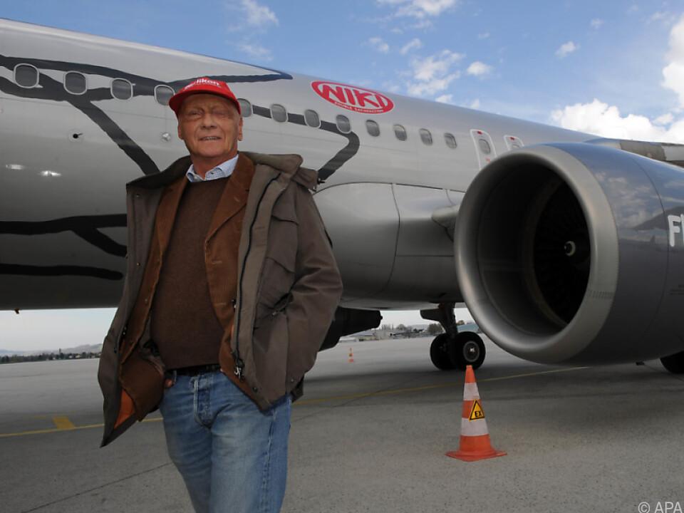 Niki Lauda hat Interesse an seiner ehemaligen Fluglinie