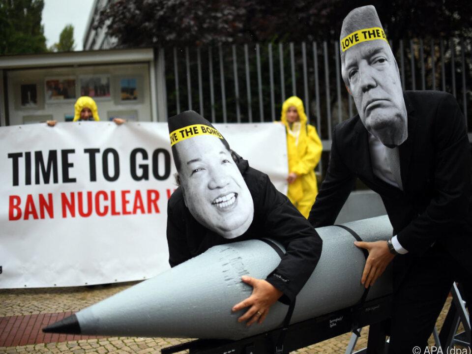 Nun auch Japan in den Konflikt zwischen USA und Nordkorea verwickelt