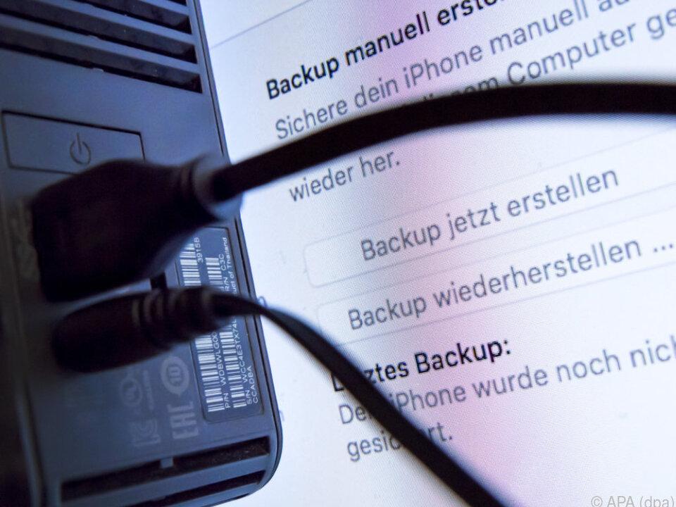 Ob manuell oder automatisiert: Backups sind extrem wichtig