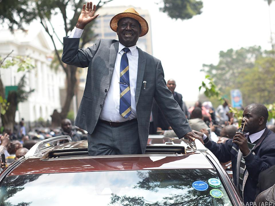 Odinga und seine Anhänger feierten die Entscheidung