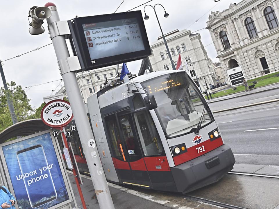 Öffentliche Verkehrsmittel werden in Österreich gerne genutzt