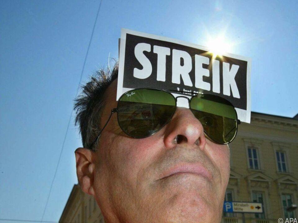 Österreicher sind eher Streik-Muffel