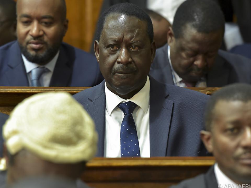 Oppositionsführer Raila Odinga hatte die Wahl angefochten