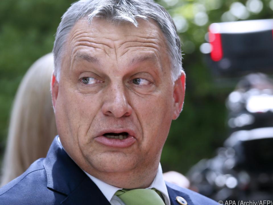 Orban lehnt Einwanderung strikt ab