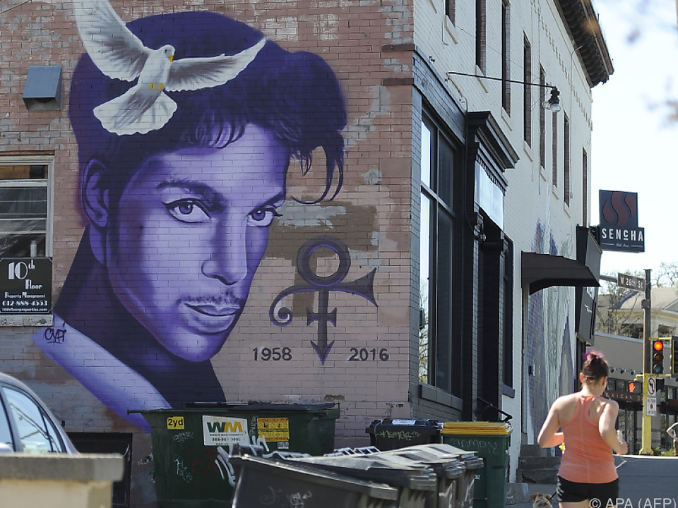 Prince wird in seiner Geburtsstadt Minnesota sehr verehrt
