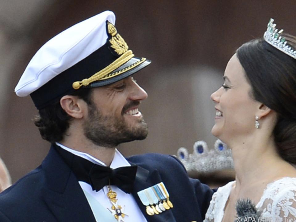 Prinz Carl Philips und Sofias Sohn Gabriel wurde am 31. August geboren