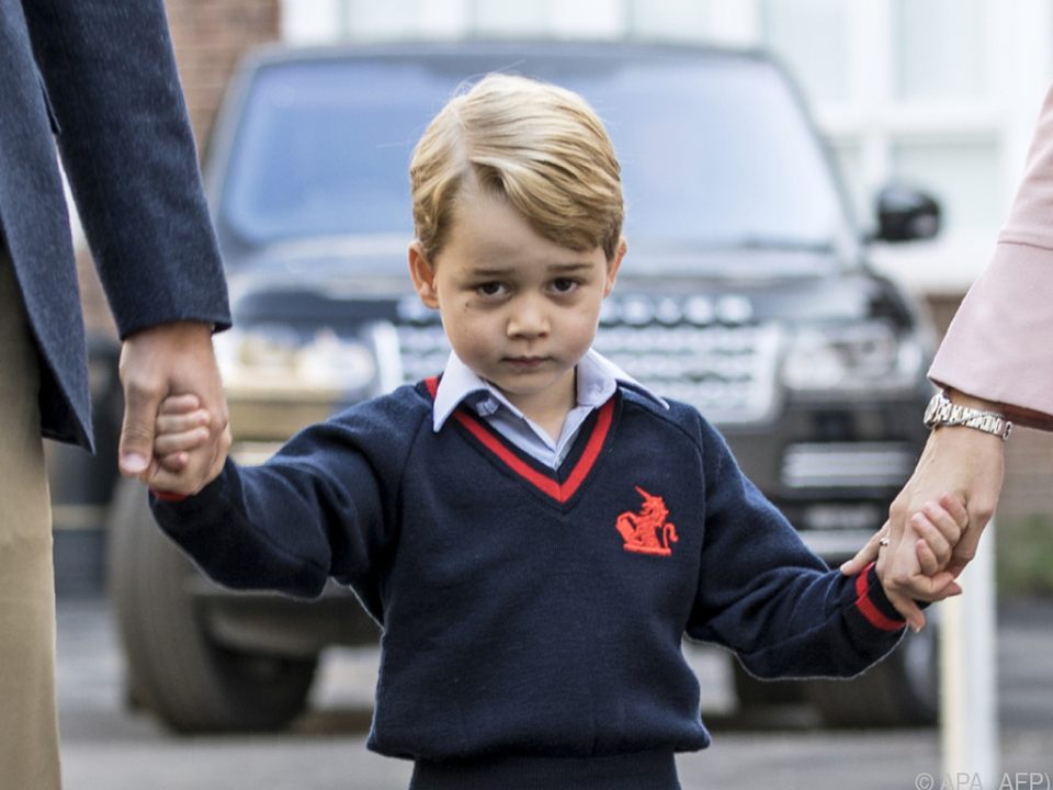 Prinz George muss schon in die Schule