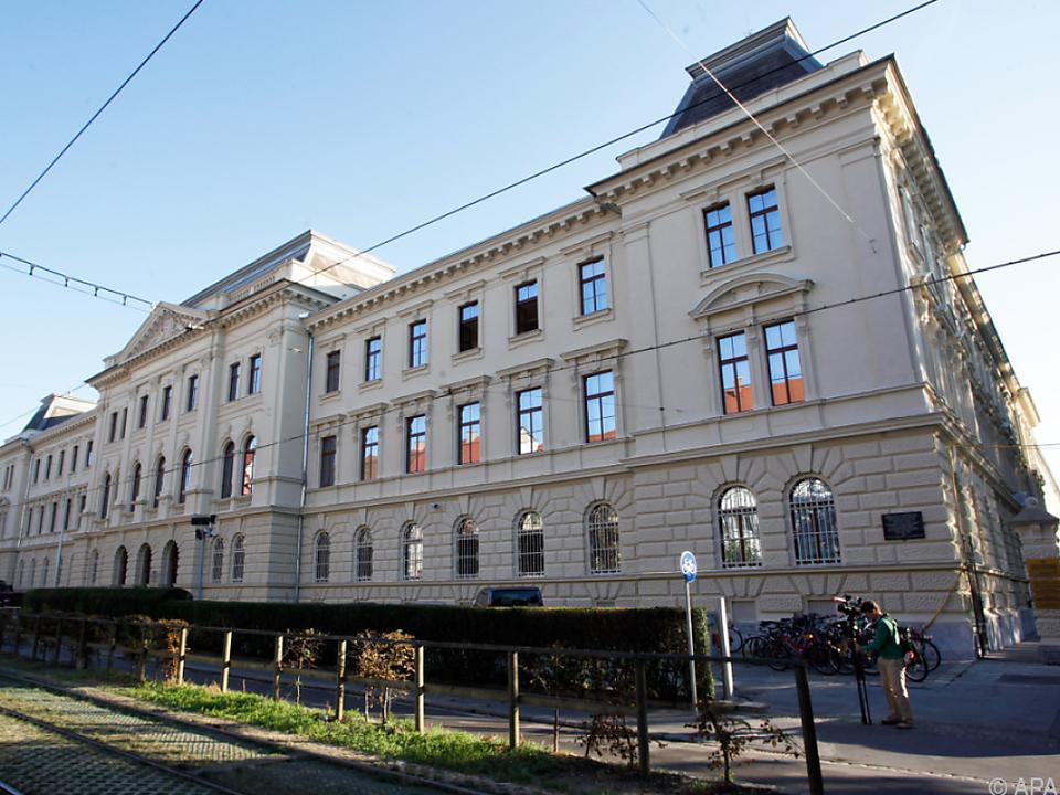 Prozess im Grazer Straflandesgericht