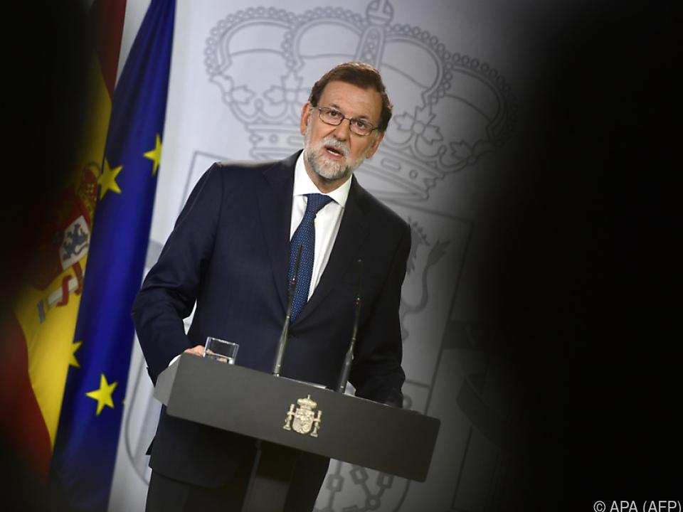 Rajoy strikt gegen Volksbefragung