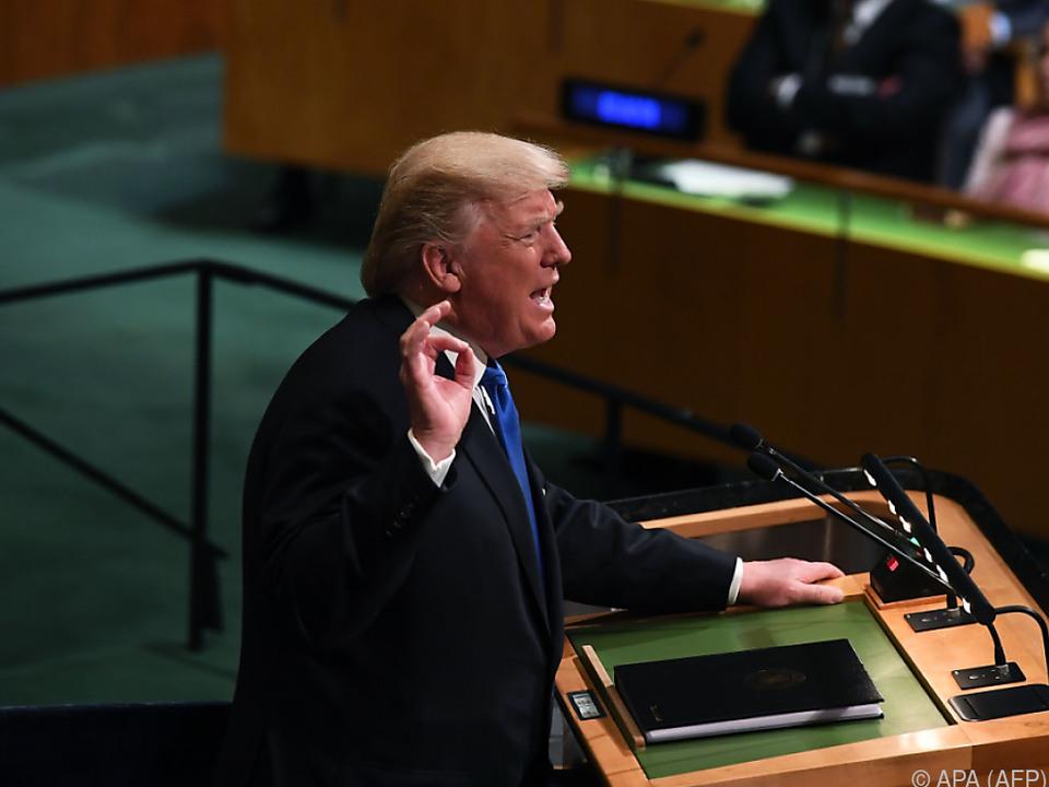 Rede Trumps wurde mit Spannung erwartet