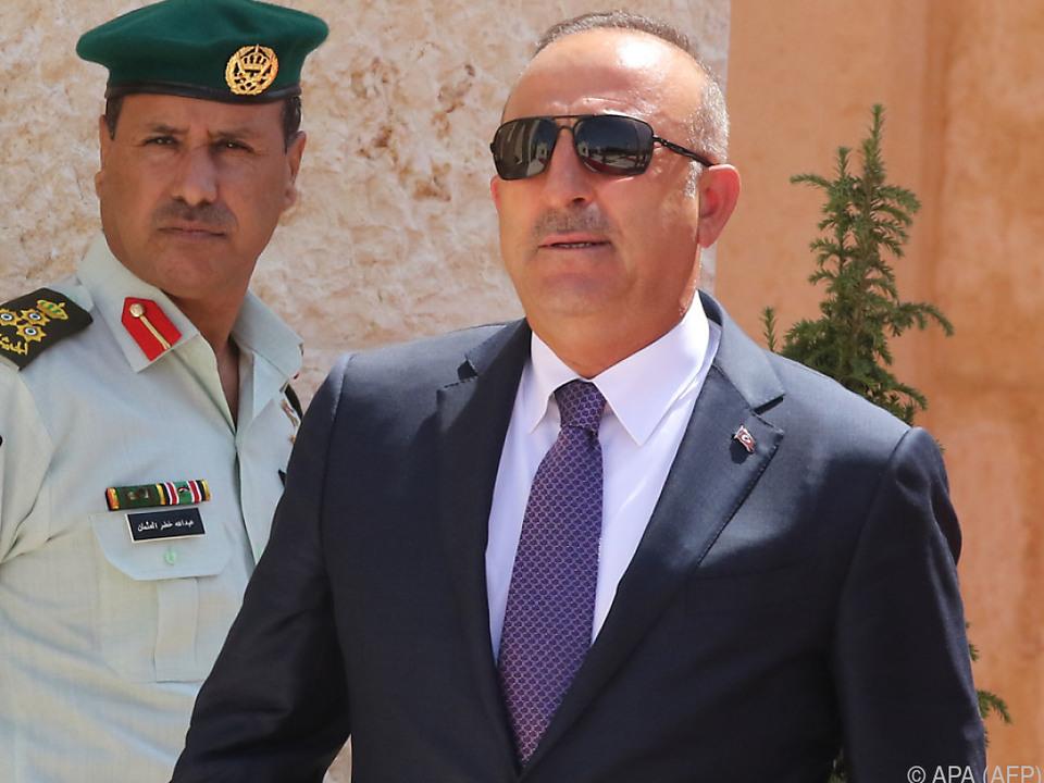 Retourkutsche des türkischen Außenministers Mevlut Cavusoglu