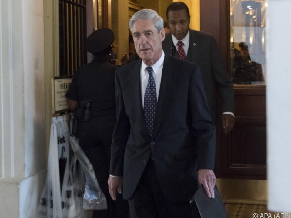 Robert Mueller lässt nicht locker