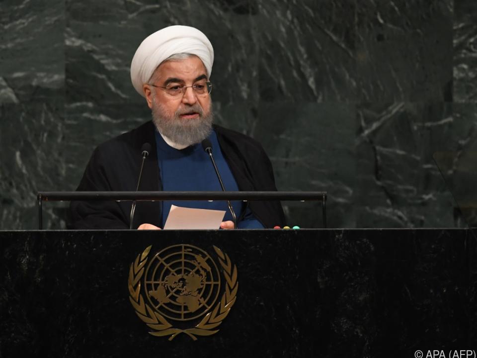 Rouhani bezeichnete Trump-Rhetorik als Ignorant