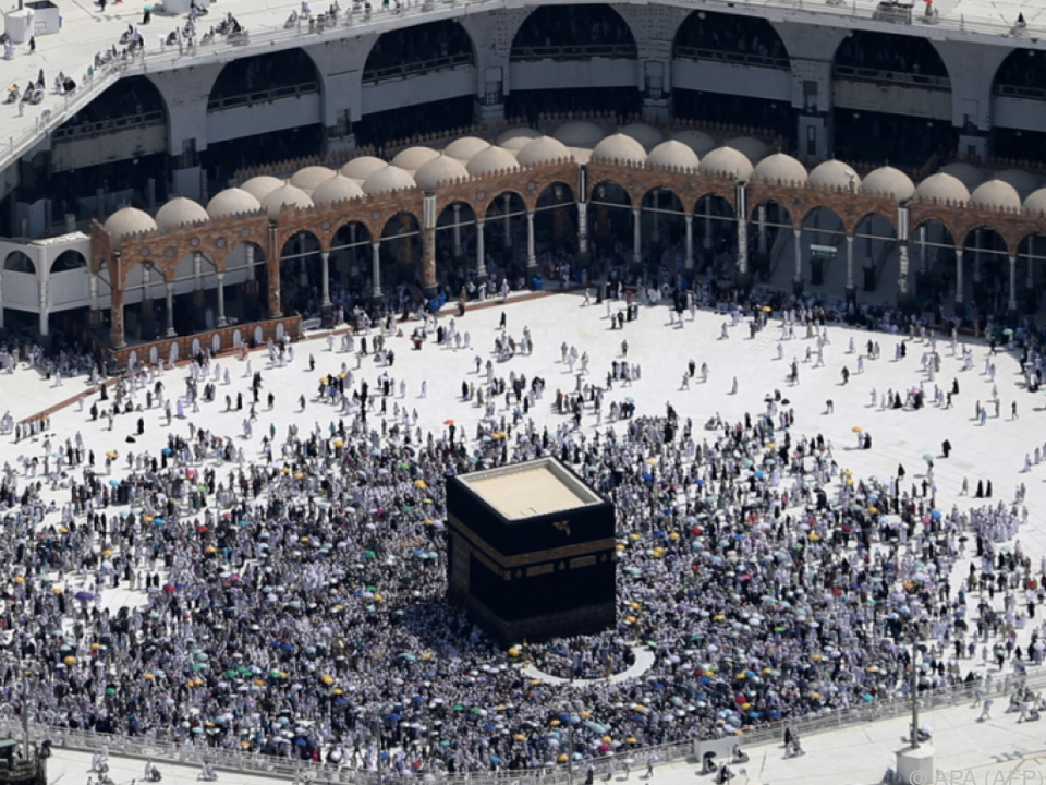 Rund 2,3 Millionen Muslime nehmen an der Hadsch teil