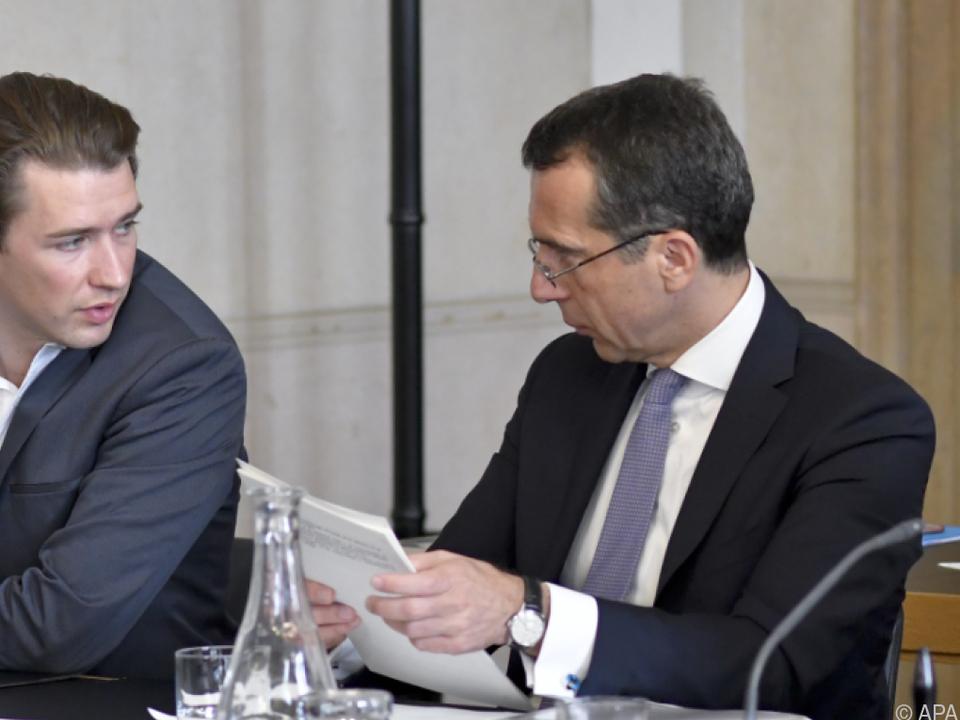 Seltene Einigkeit unter den Koalitionsspitzen