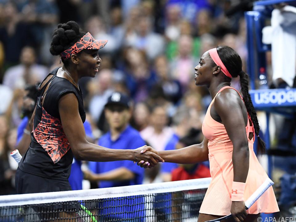 Sloane Stephens würdigt ihre unterlegene Gegnerin Venus Williams