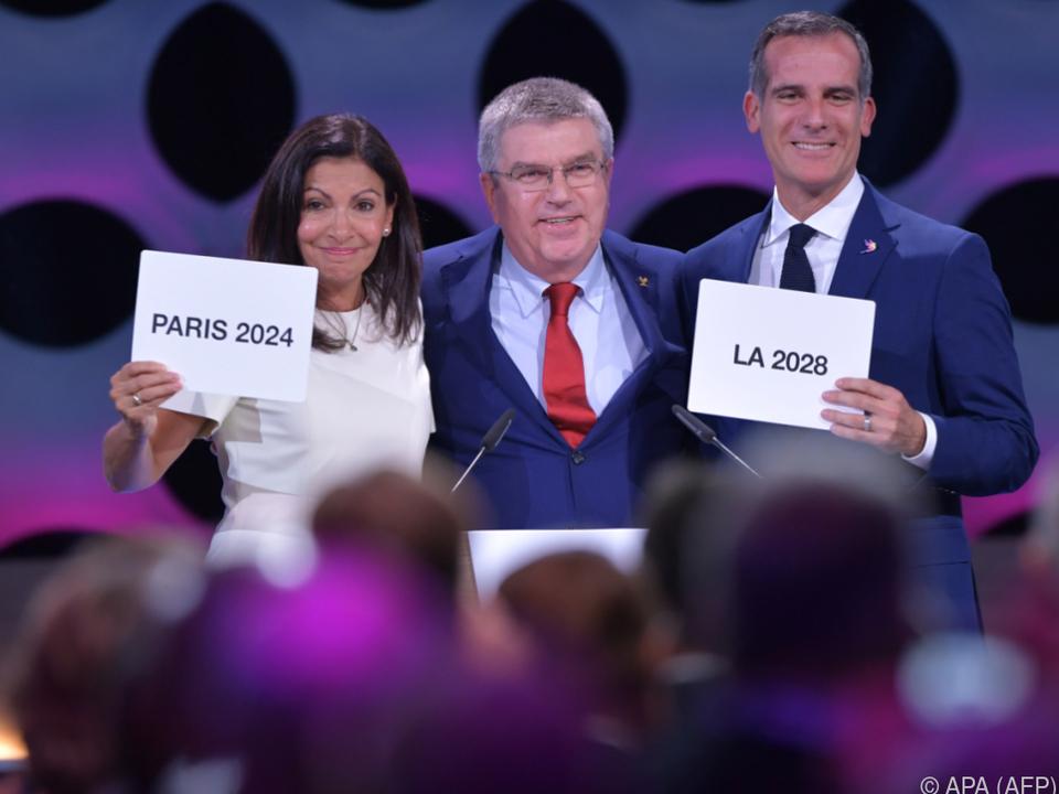 Sommerspiele 2014 in Paris, 2028 in Los Angeles
