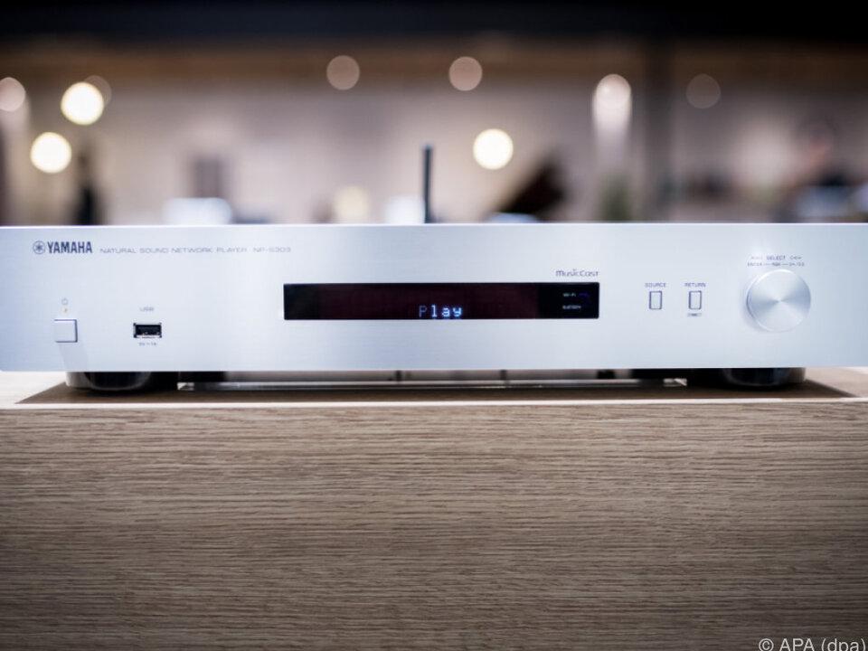 Yamahas Netzwerkplayer NP-S303 macht ältere Anlagen fit für Streaming