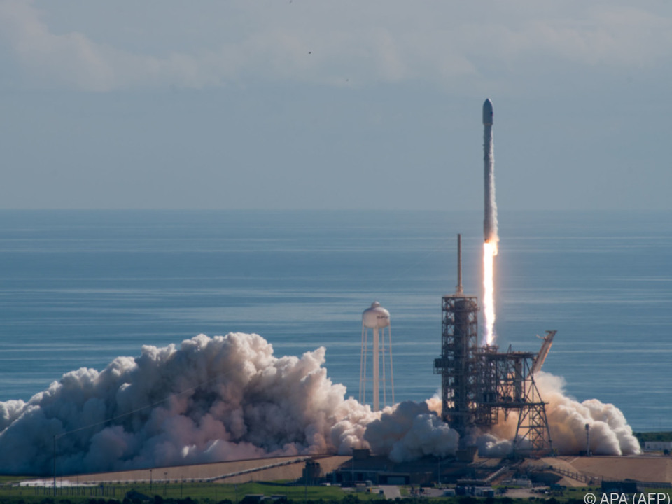 SpaceX hib planmäßig ab