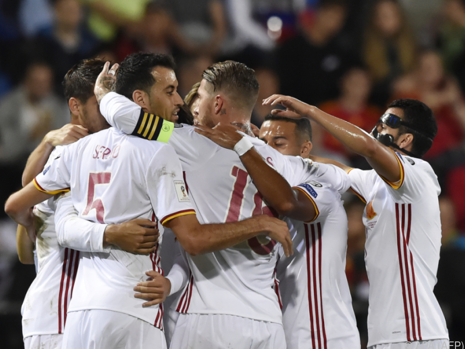 Spanien feierte ein 8:0-Schützenfest gegen Liechtenstein