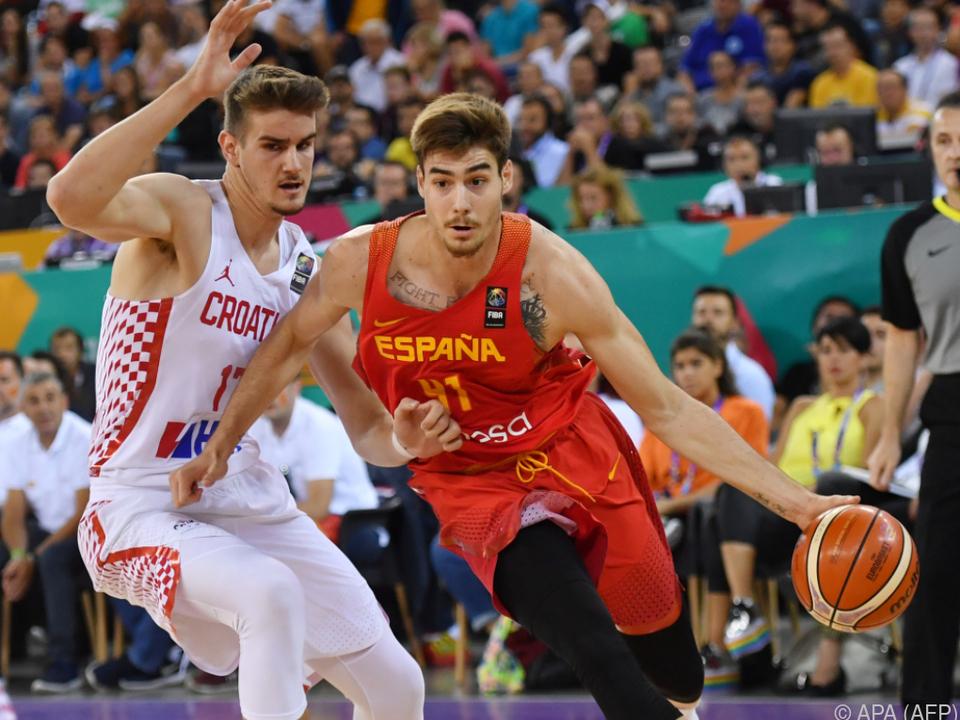 Spanien fügte der Auswahl Kroatiens mit Mühe die erste Pleite zu