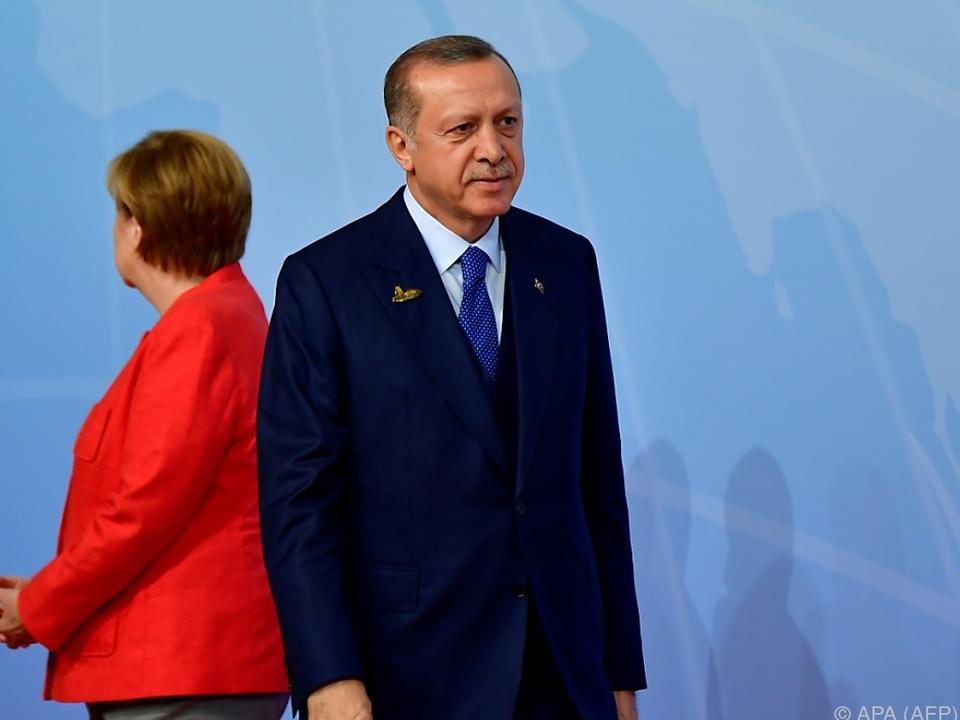 Spannungen zwischen Deutschland und der Türkei