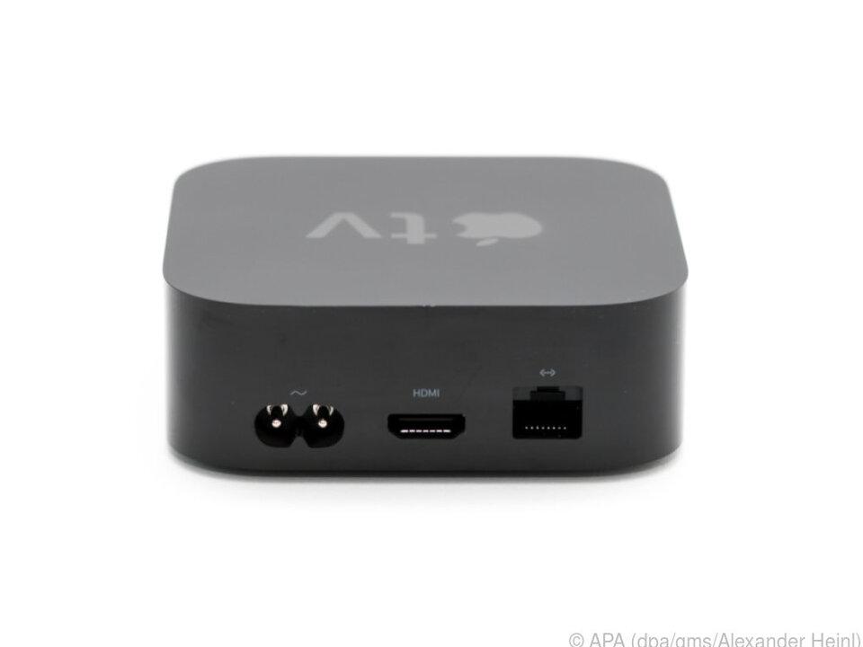 Strom, HDMI, Netzwerk: Drei Anschlüsse reichen der neuen Apple-TV-Box