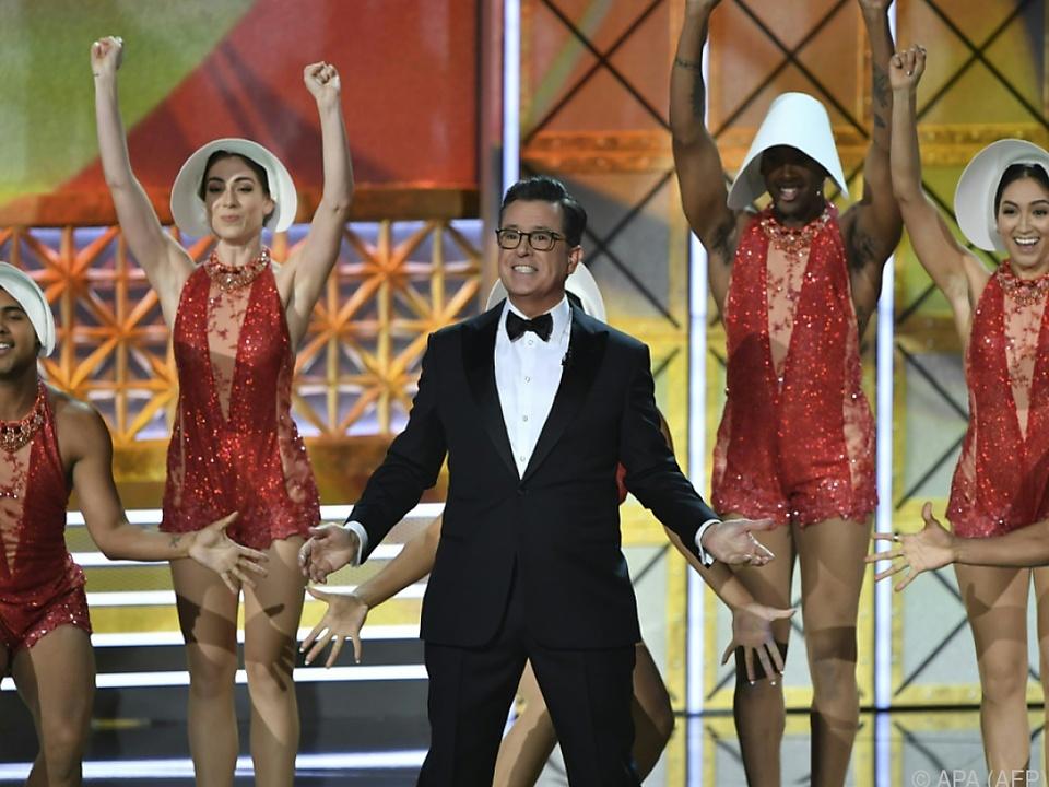 Stephen Colbert führte durch den Abend