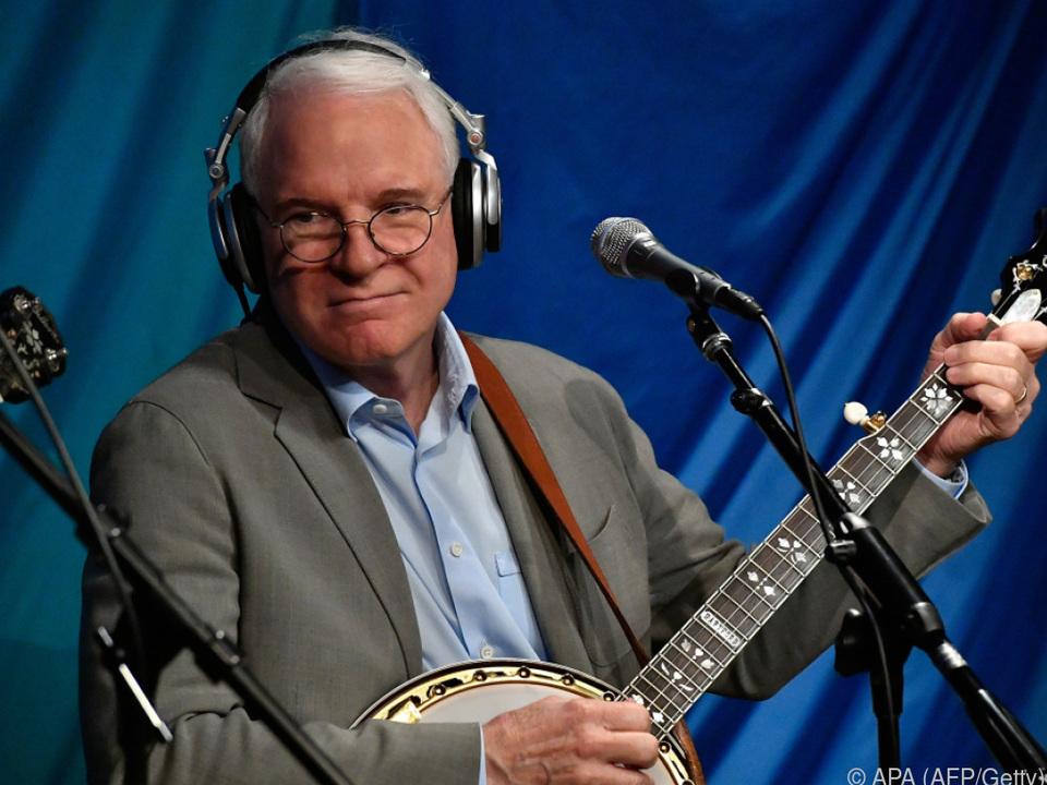 Steve Martin beherrscht das Banjo seit seiner Kindheit