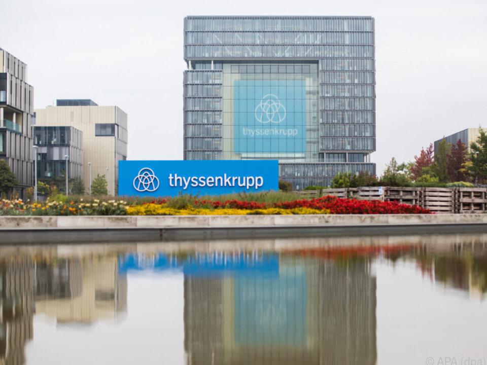ThyssenKrupp und Tata Steel unterzeichneten Absichtserklärung