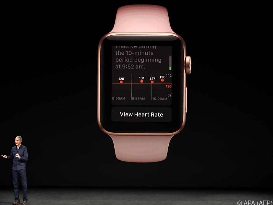 Die Apple Watch wird mehr Informationen zum Puls anzeigen