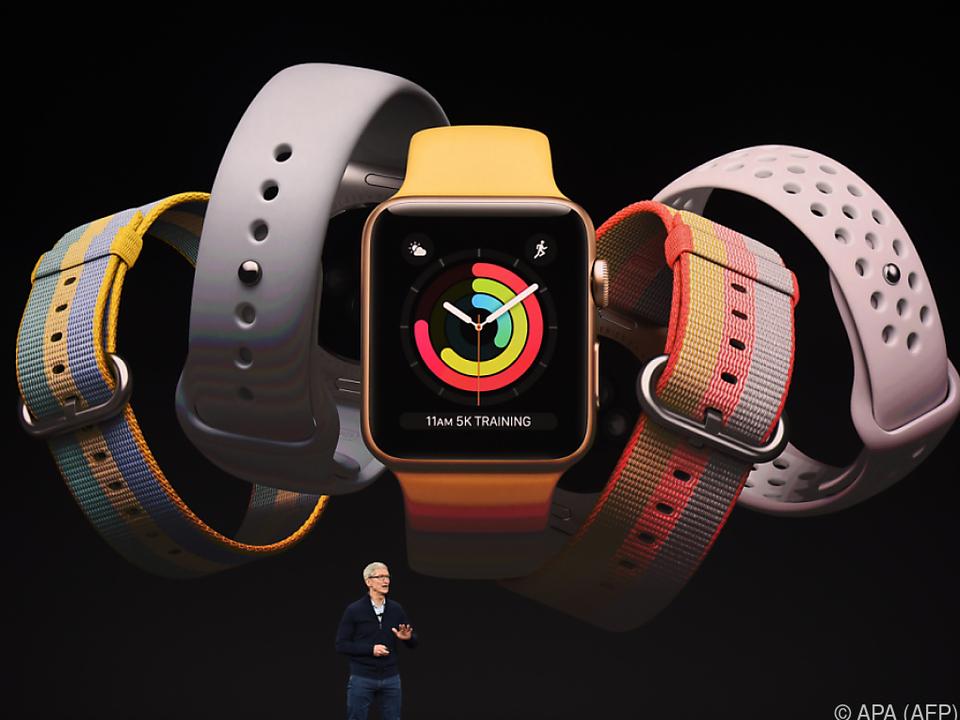 Tim Cook präsentierte die dritte Generation der Apple Watch