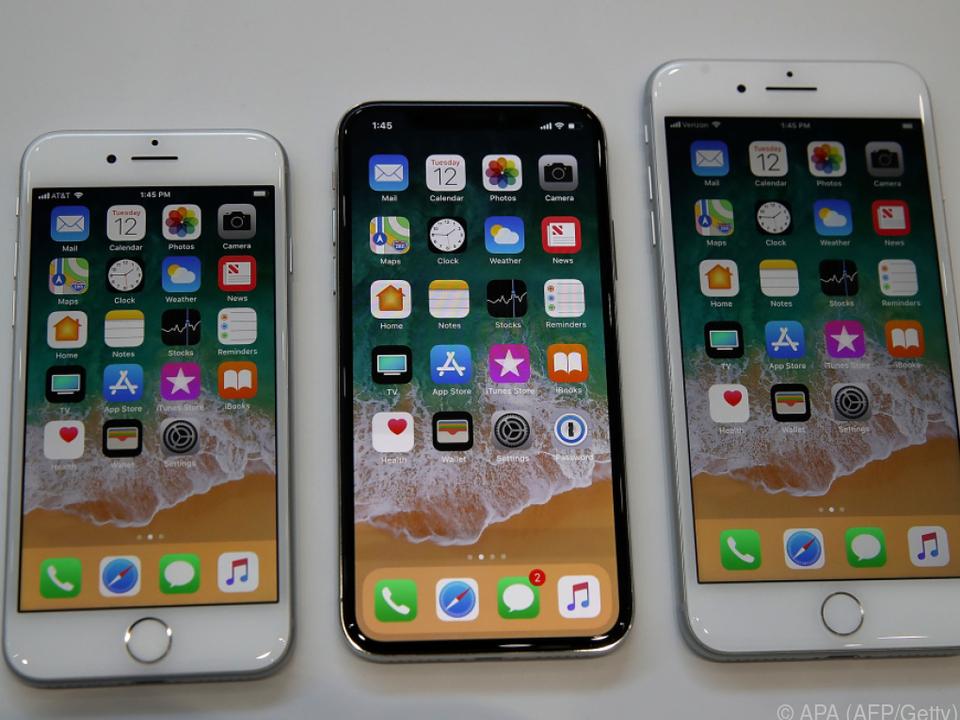 Die Neuheiten: Das iPhone 8, das iPhone X und das iPhone 8 Plus