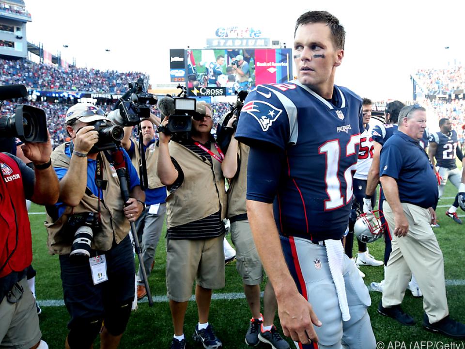 Tom Brady ging auf Distanz zum Präsidenten