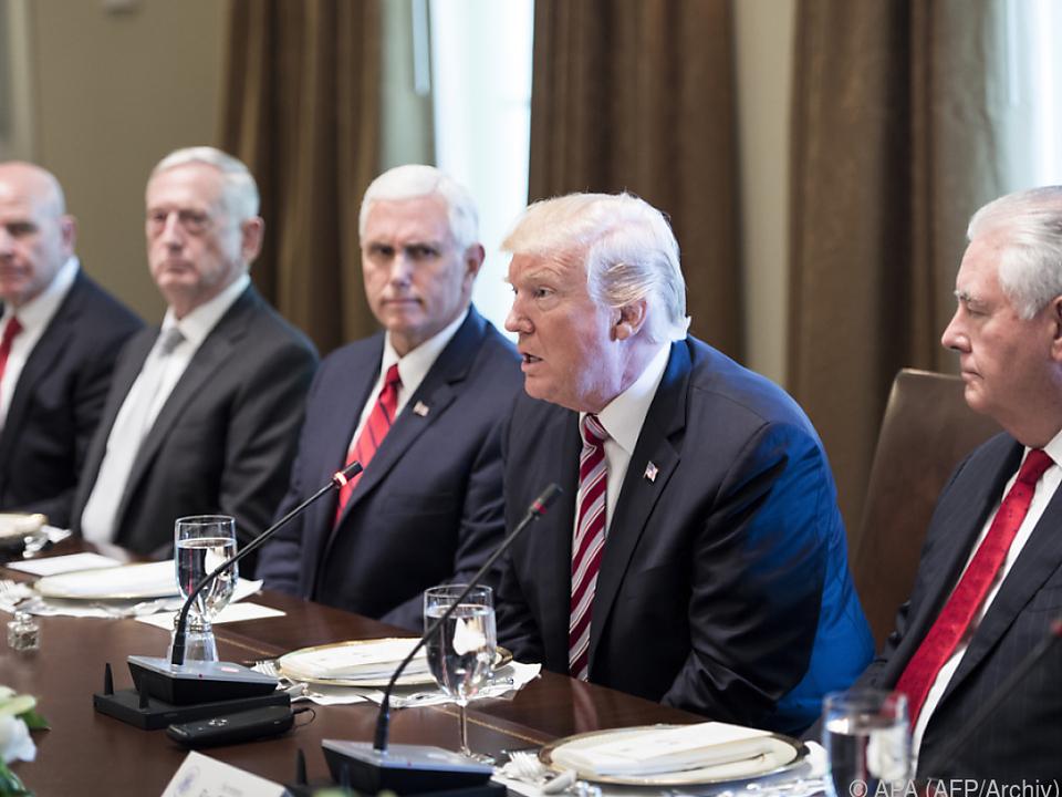 Trump vertraut dem Iran nicht