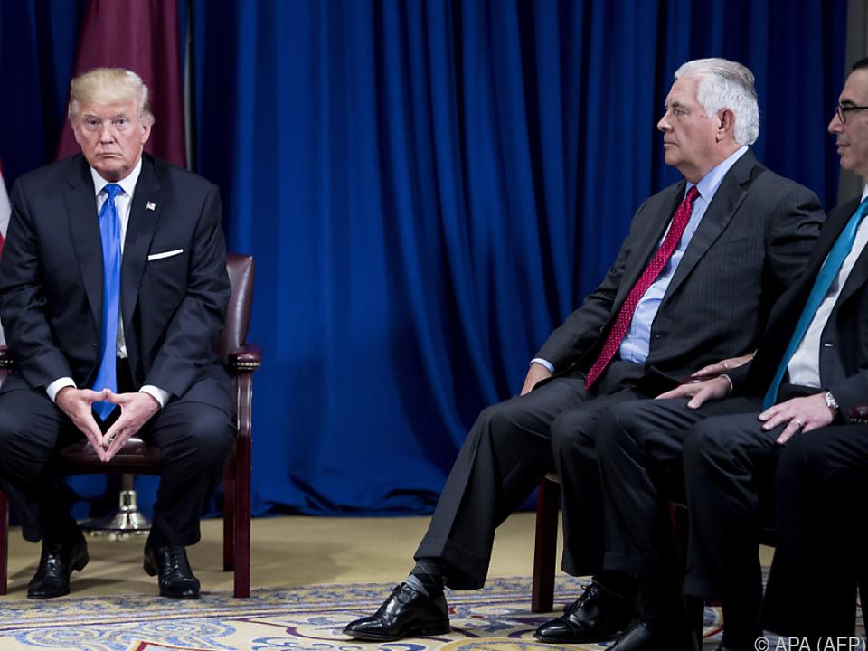 US-Außenminister Tillerson auf Konfrontation mit dem Iran
