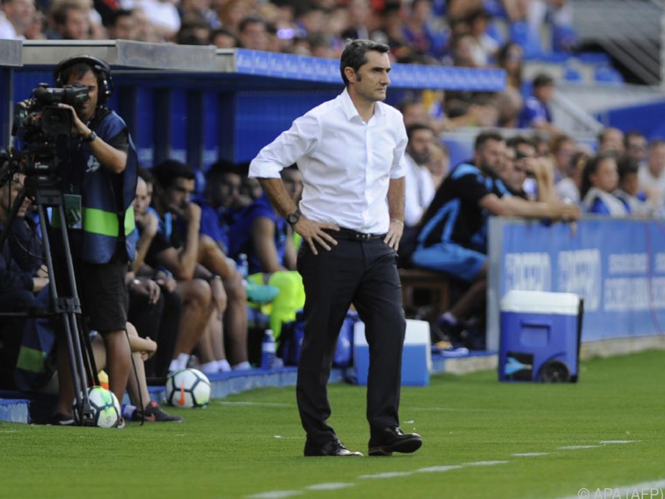 Valverde will sich auf das Sportliche konzentrieren