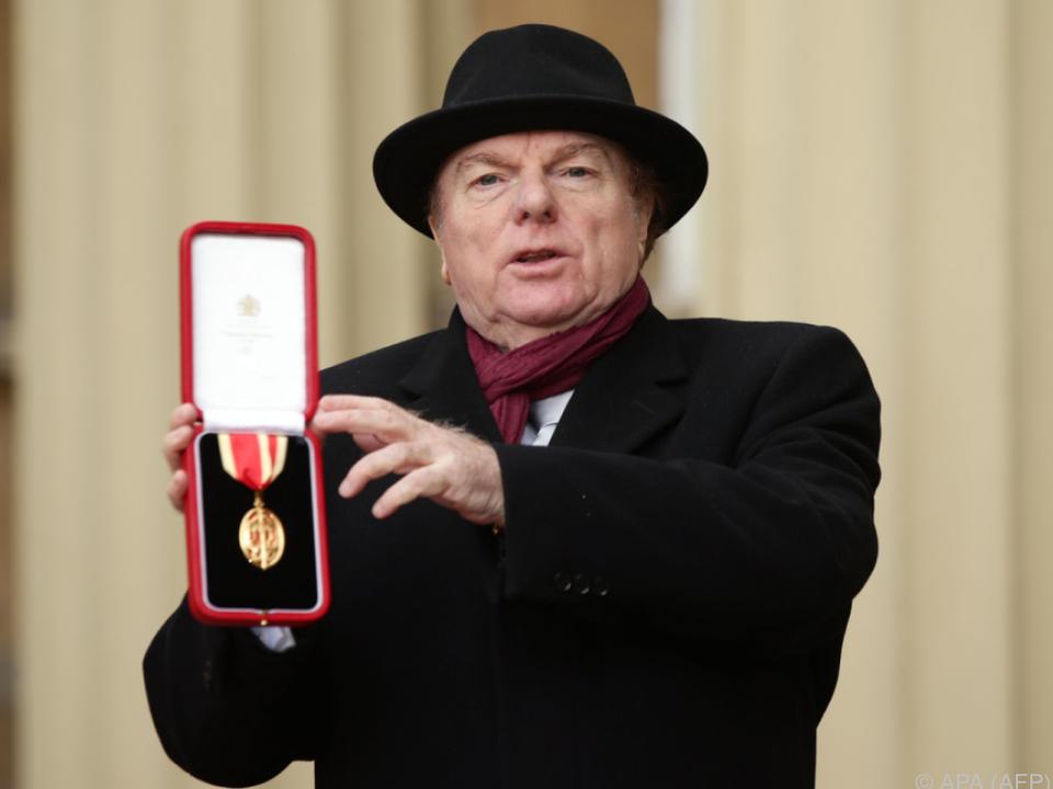 Van Morrison bekam 2015 den Ritterschlag