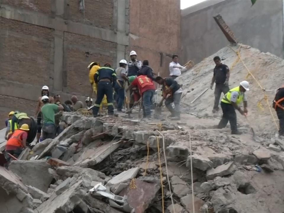Viele Tote bei Erdbeben in Mexiko