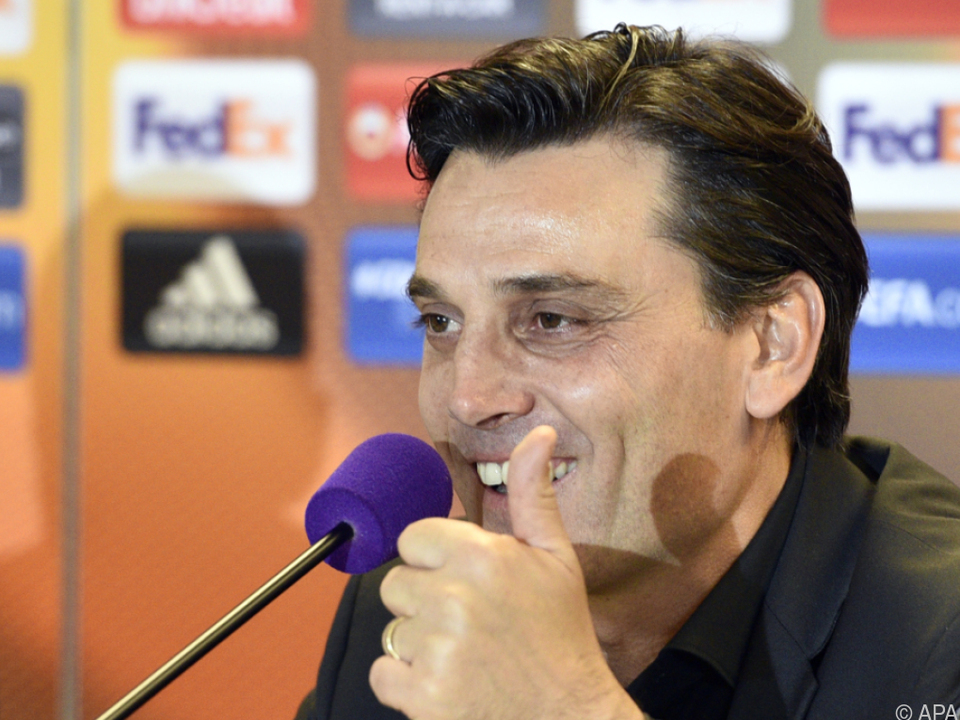Vincenzo Montella will mit Milan Gruppensieger werden