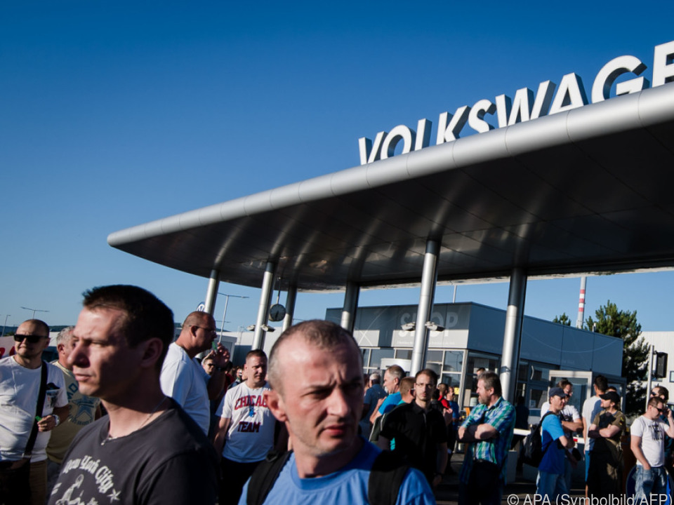 Volkswagen Slowakei hat keinen Mangel an Mitarbeitern