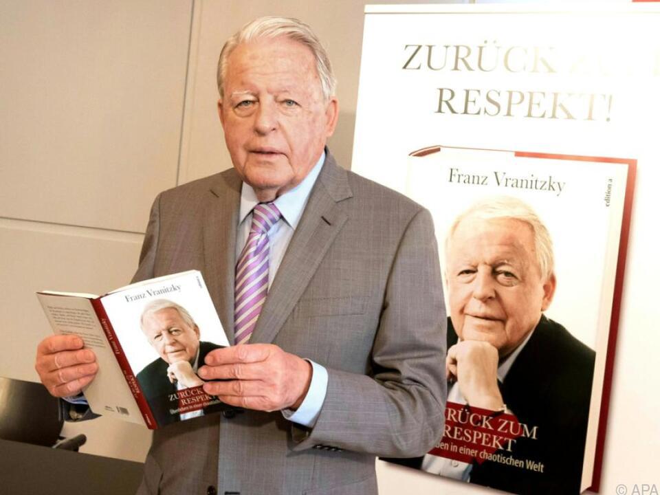 Vranitzky steht vor seinem 80. Geburtstag