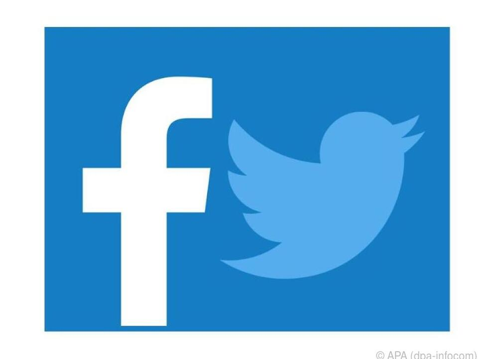 Wer in den Sozialen Medien aktiv ist, nutzt oft Facebook und Twitter